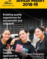 Sport Wellington 2018 19 Annual Report