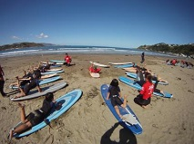 KiwiSport Funded Programmes Beach Lesson 2